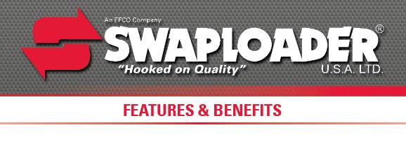 swaploader features & benefits logo